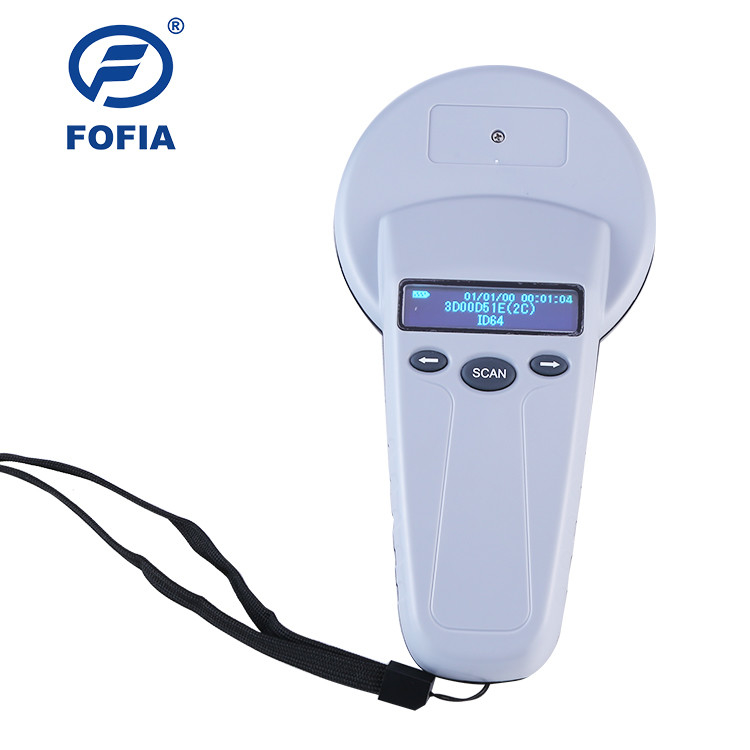 Long Range Universal RFID Microchip Scanner Fdx - B Animal Chip Reader For Pets